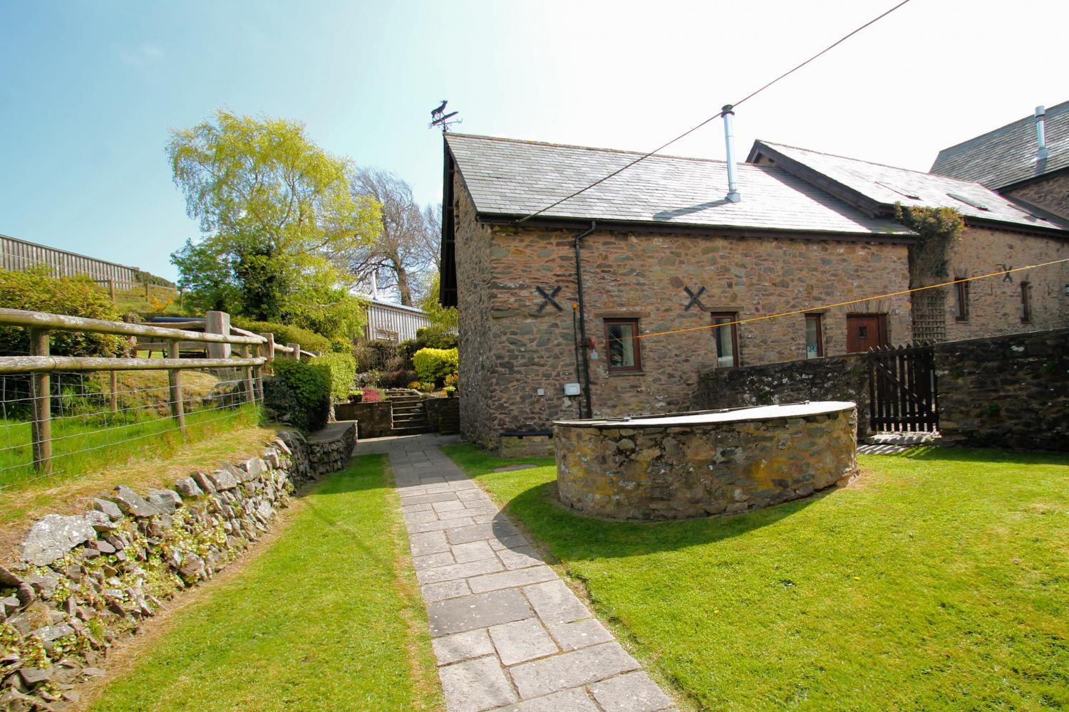 Yenworthy Mill self catering accommodation Exmoor countisbury oare north devon