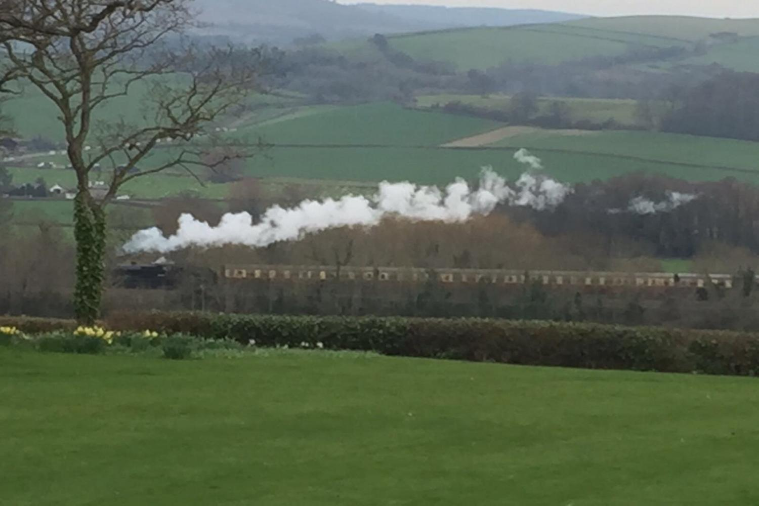 West Somerset Steam Railway runs nearby