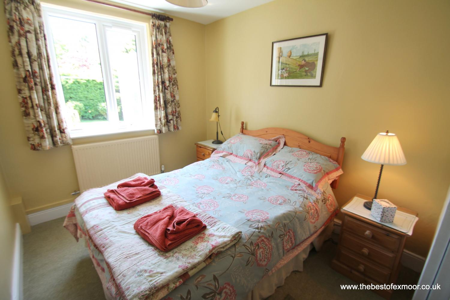Oare Water Cottage double bedroom