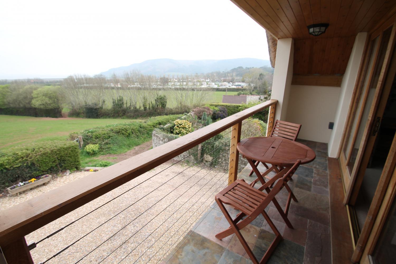 Splatt Barn balcony off the double bedroom