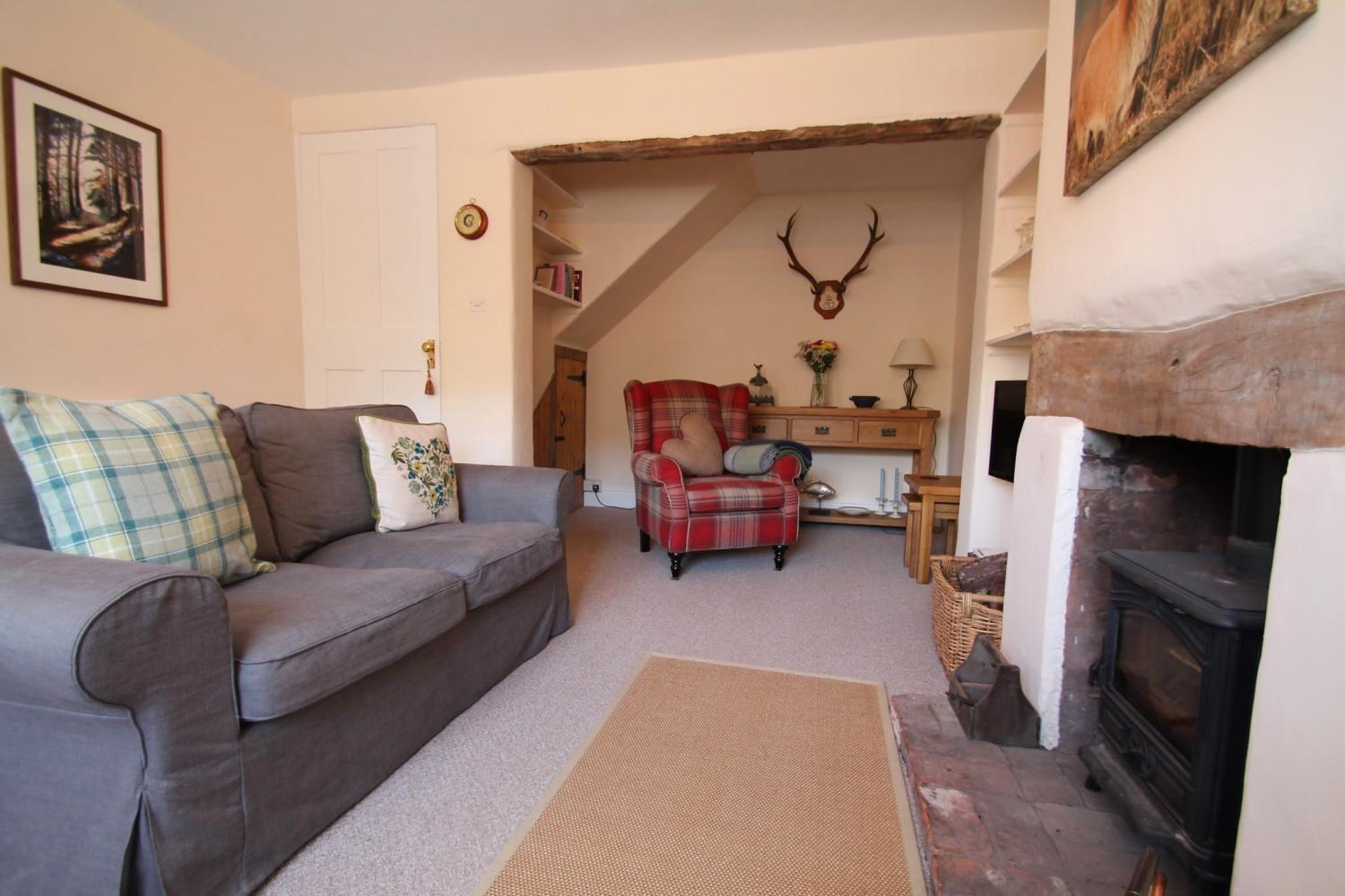 Stag Cottage cosy sitting room