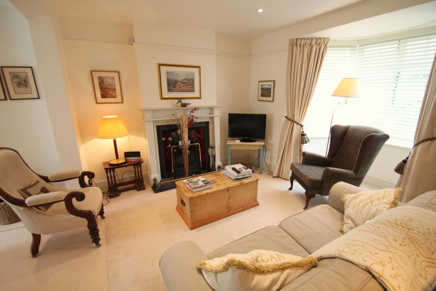 No 4 Lowerbourne comfortable sitting room