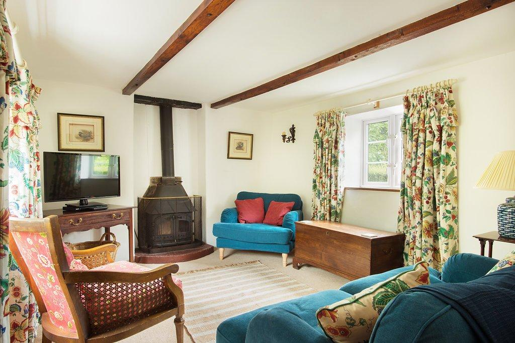 Bratton Mill Cottage Sitting Room