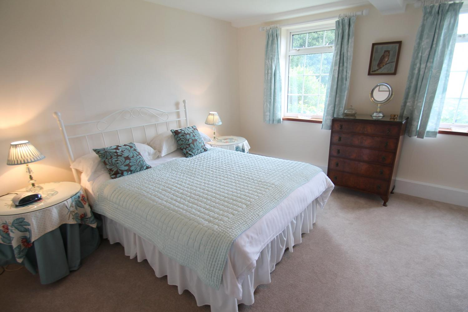 Double bedroom at Garden View