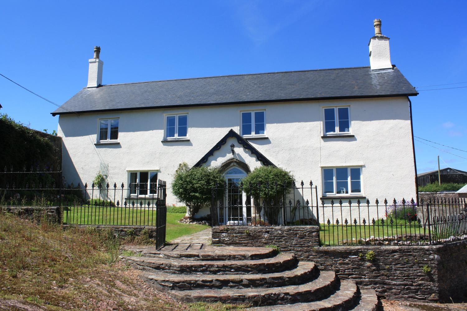 Upcott Farm House Winsford Holiday Cottages In Winsford