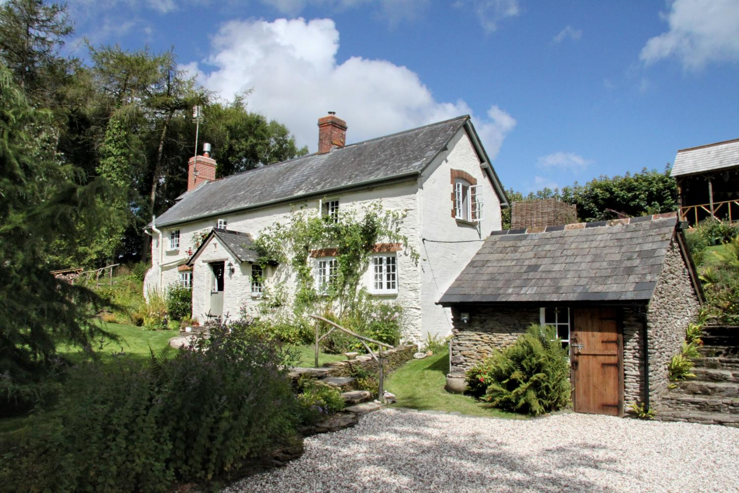 Lower Goosemoor Cottage - an idyllic location