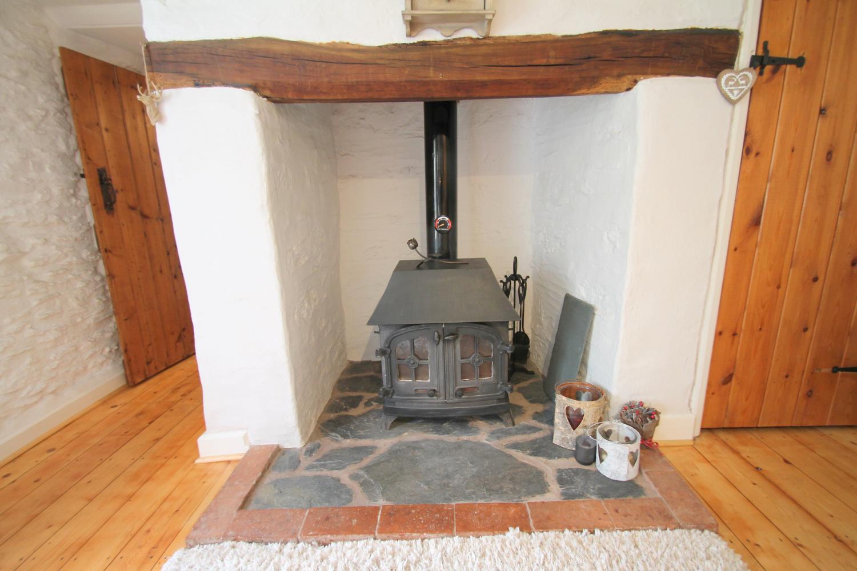 Warm cosy logburner