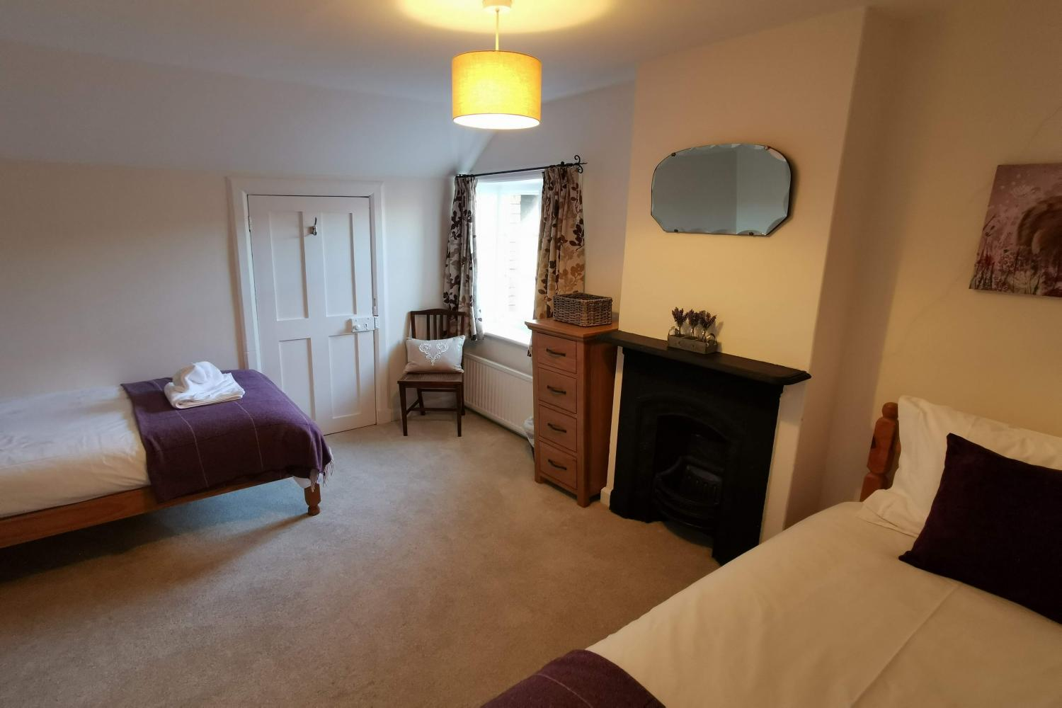 Bowness top floor twin room