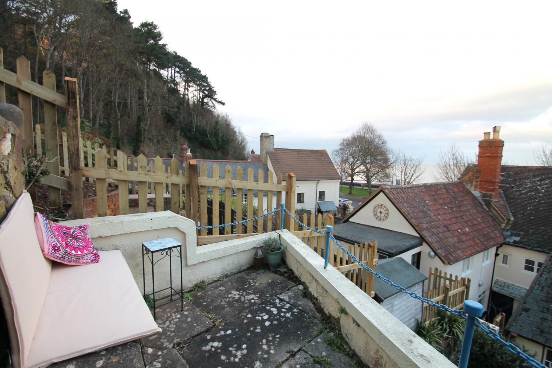 Coastal views from the terraced patios
