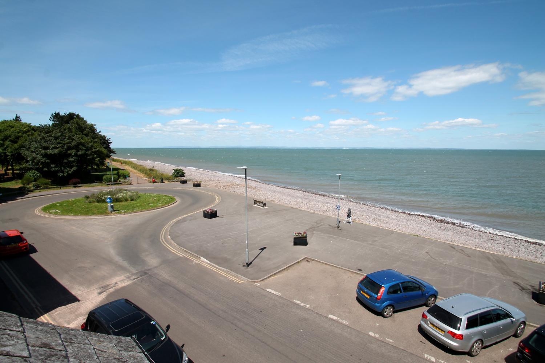 View from top floor twin room.