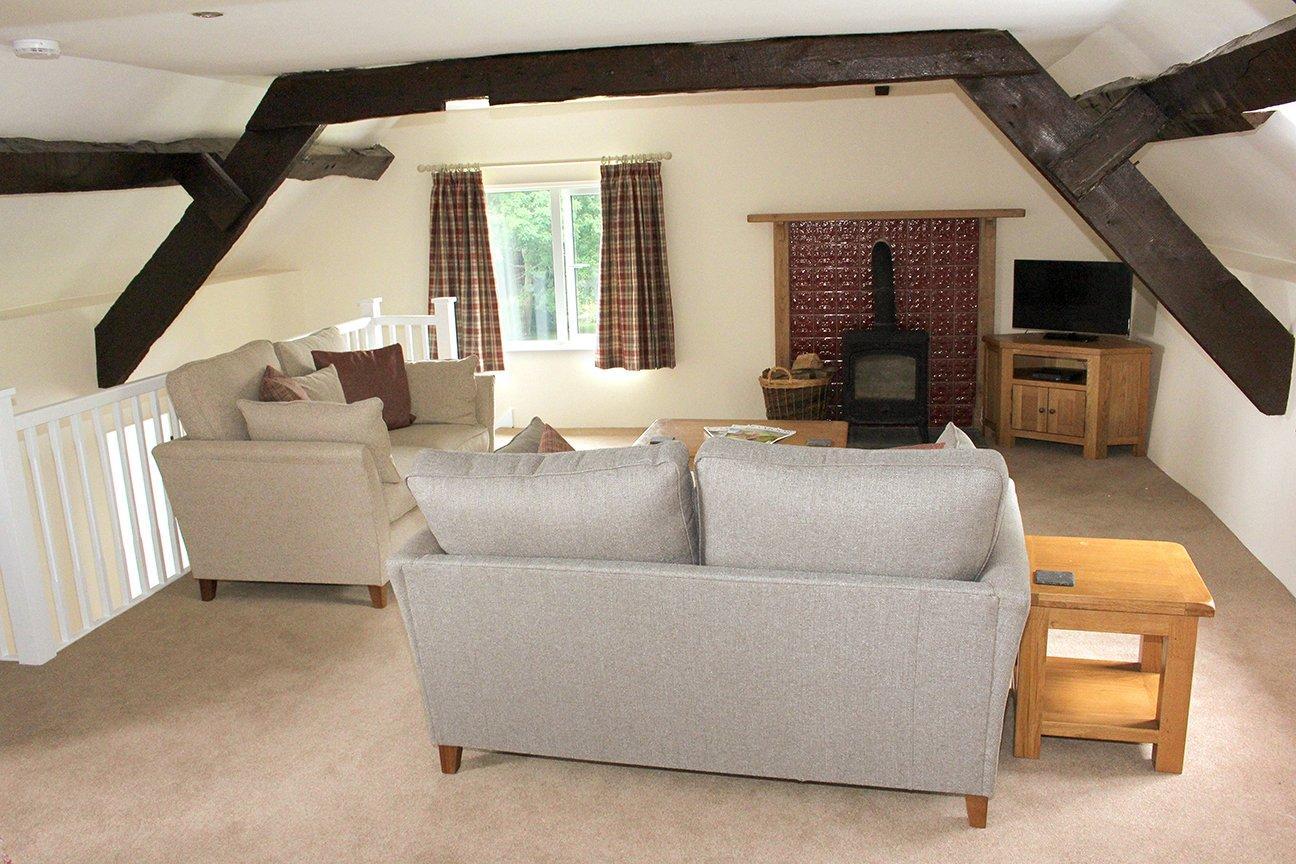 Upper Barn lounge Detail