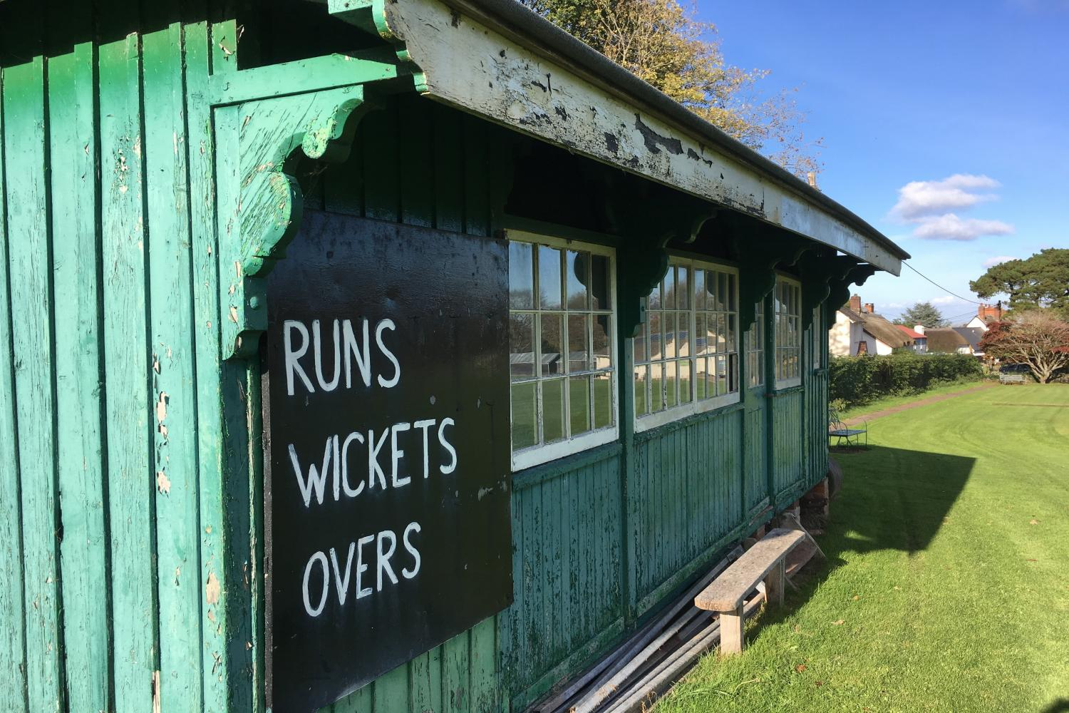 Porlock Cricket Green.