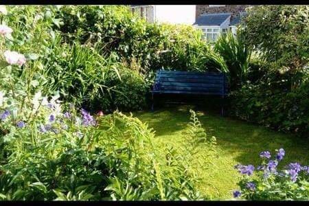 Pip's Corner front garden