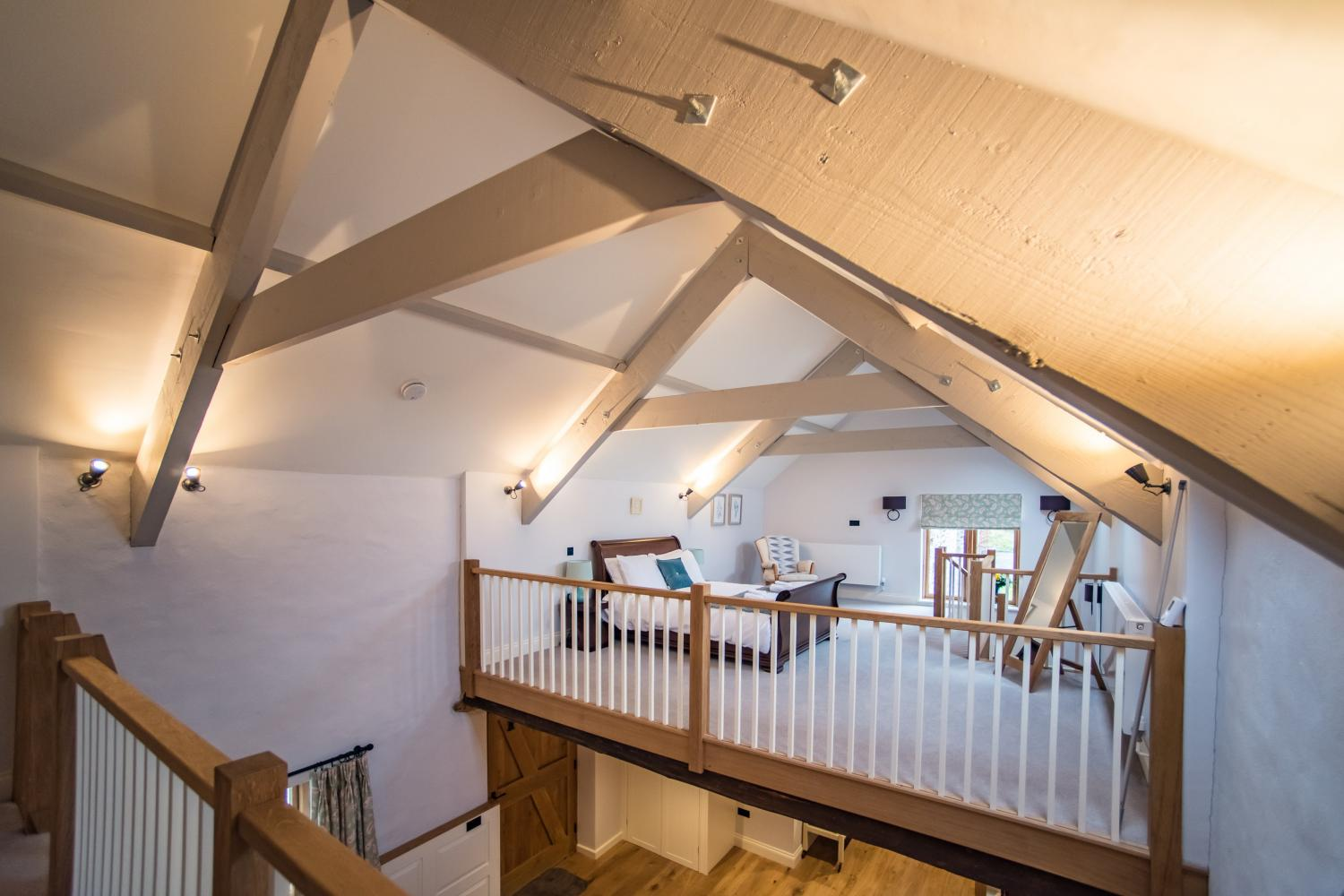 The Cow Shed mezzanine floor