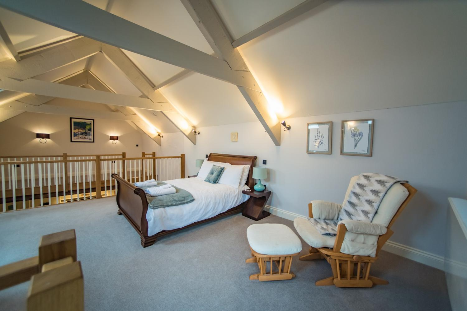 The Cow Shed luxurious bedroom