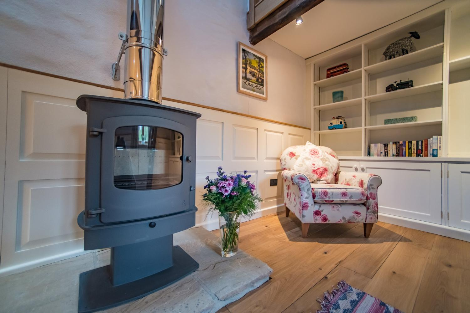 The Cowshed Wood Burner