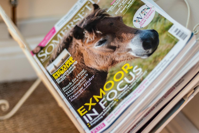 Quarry Cottage, Exmoor magazine