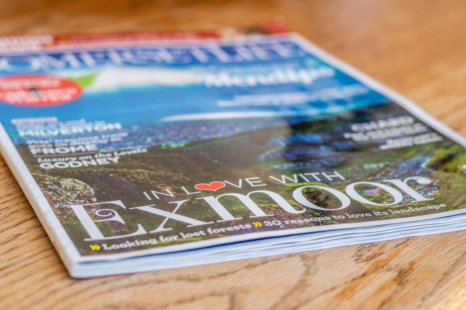 Quarry Cottage Exmoor magazine
