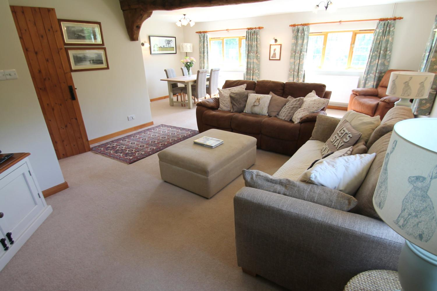 Middle Stolford large family sitting room