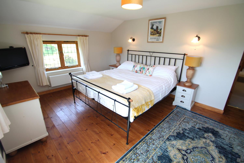 Middle Stoldford Cottage Master Bedroom