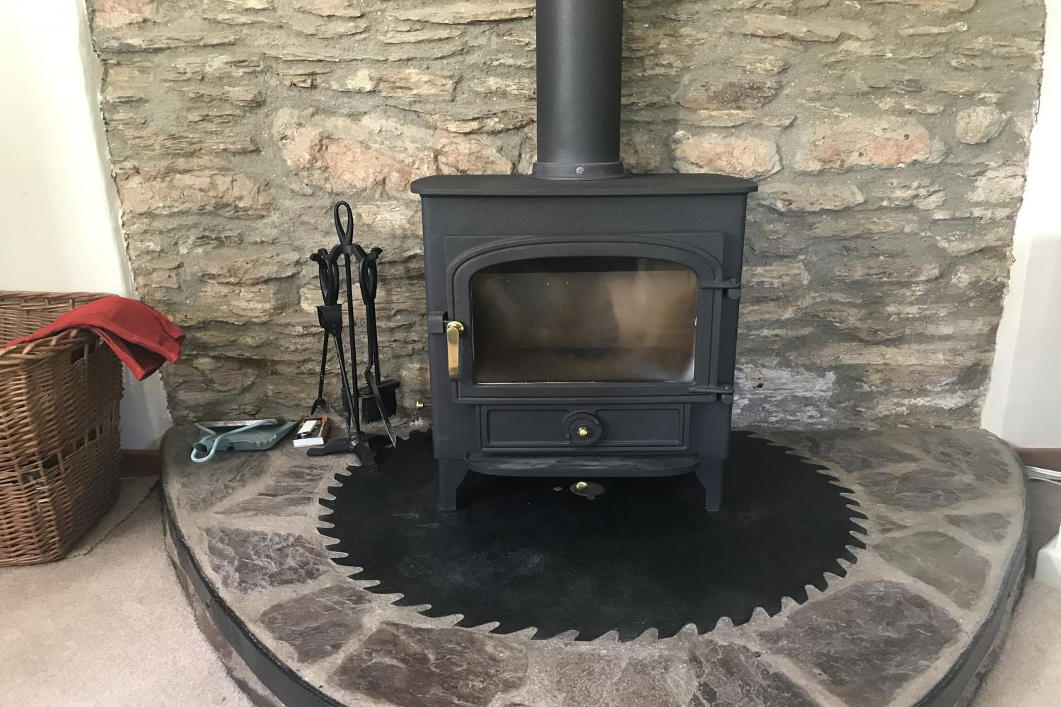 Middle Stolford log burner