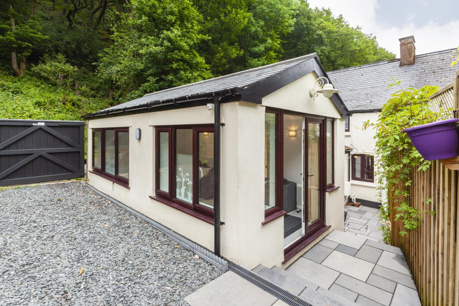 Woodside Cottage, Hawkcombe in Porlock