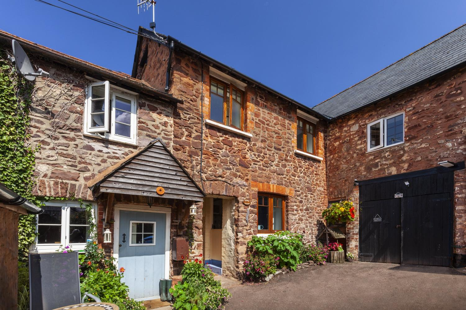 Bamboo Cottage in Timberscombe